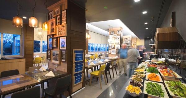 Radisson Blu Hotel Ankara'da seçme lezzetlerden oluşan açık büfe iftar menüsü 100 TL yerine 69,90 TL! Bu fırsat 6 Mayıs-3 Haziran 2019 tarihleri arasında, iftar saatinde geçerlidir.