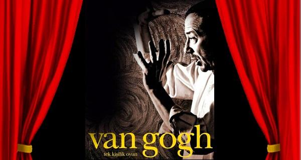 """Hakan Gerçek'in başrolüyle 'Van Gogh' oyununa biletler 67 TL yerine 45 TL! Tarih ve konum seçimi yapmak için """"Hemen Al"""" butonuna tıklayınız."""