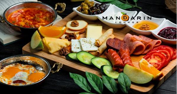 Ataköy Mandarin Lounge'da 28 çeşit içerikten oluşan enfes kahvaltı menüsü 34,90 TL! Fırsatın geçerlilik tarihi için DETAYLAR bölümünü inceleyiniz.