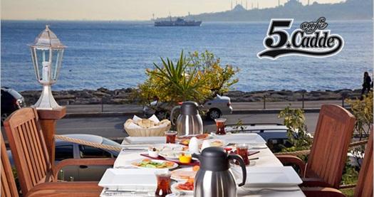 Üsküdar Salacak Sahil Yolu Cafe 5. Cadde Life'da Kız Kulesi ve Topkapı Sarayı manzaralı gün başlangıcı 17,90 TL'den başlayan fiyatlarla! Fırsatın geçerlilik tarihi için DETAYLAR bölümünü inceleyiniz.