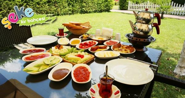 Osmangazi Şeke Kır Bahçesi'nde doğa ile iç içe serpme kahvaltı ve kahvaltı tabağı seçenekleri kişi başı 19,90 TL'den başlayan fiyatlarla! Fırsatın geçerlilik tarihi için, DETAYLAR bölümünü inceleyiniz.