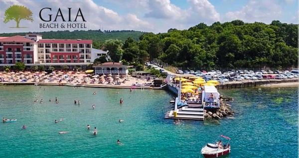 Kerpe Gaia Beach Hotel'de çift kişilik 1 gece YP Plus Konaklama, Özel Plaj Kullanımı, VIP transfer seçenekleri