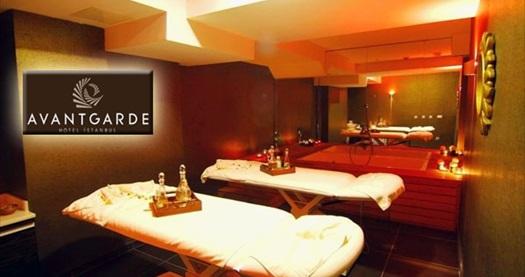Levent Avantgarde Hotel İstanbul Spa & Gym'de 50 dakikalık masaj keyfi kişi seçenekleriyle 69 TL'den başlayan fiyatlarla! 30 Kasım 2014 tarihine kadar geçerlidir.