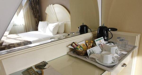 Pasaport'un modern, lüks ve yepyeni adresi Otel Marla'da çift kişilik 1 gece kahvaltı dahil konaklama 229 TL! Fırsatın geçerlilik tarihi için, DETAYLAR bölümünü inceleyiniz.