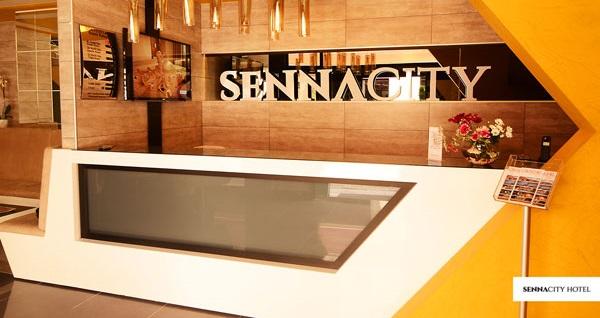 Beklentilerinizi yükselten Eskişehir Senna City Hotel'de çift kişilik 1 gece konaklama 184 TL'den başlayan fiyatlarla! Fırsatın geçerlilik tarihi için DETAYLAR bölümünü inceleyiniz.