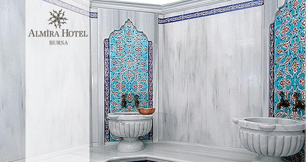 Almira Hotel Blu Wellness Spa'da hamam, masaj ve sauna kullanımı 170 TL yerine 99 TL! Fırsatın geçerlilik tarihi için DETAYLAR bölümünü inceleyiniz.