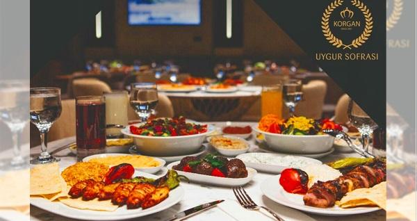 Korgan Uygur Sofrası'nda tadına doyulmaz akşam yemeği menüleri 69 TL'den başlayan fiyatlarla! Fırsatın geçerlilik tarihi için DETAYLAR bölümünü inceleyiniz.
