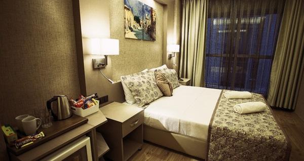 İz Hotel İzmir'de farklı kişi seçenekleriyle kahvaltı dahil 1 gece konaklama 109 TL'den başlayan fiyatlarla! Fırsatın geçerlilik tarihi için, DETAYLAR bölümünü inceleyiniz. Hafta sonları geçerli değildir.