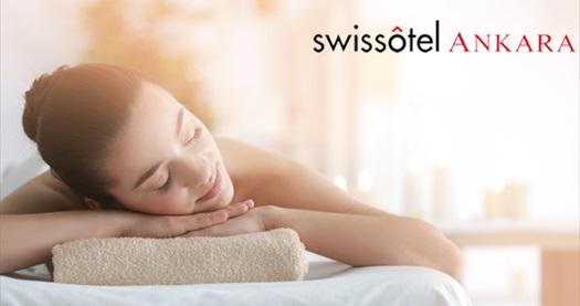 Swissotel Ankara Pürovel Spa&Sports'ta 1 saatlik masaj seçenekleri ve ıslak alan kullanımı 250 TL yerine 170 TL! Fırsatın geçerlilik tarihi için, DETAYLAR bölümünü inceleyiniz.
