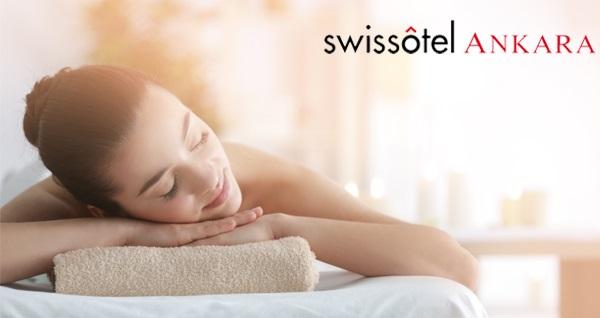 Swissotel Ankara Pürovel Spa&Sports'ta 1 saatlik masaj seçenekleri ve ıslak alan kullanımı 250 TL yerine 150 TL! Fırsatın geçerlilik tarihi için, DETAYLAR bölümünü inceleyiniz.