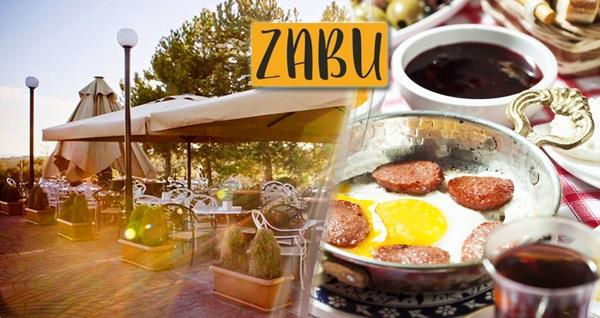 Ahlatlıbel Zabu Cafe'de zengin kahvaltı tabağı 23 TL! Fırsatın geçerlilik tarihi için, DETAYLAR bölümünü inceleyiniz.