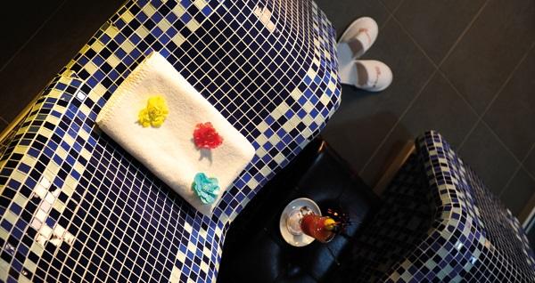 Ramada Encore Airport Hotel Nape'a Spa'da masaj seçeneklerinden biri, ıslak alan kullanımı, içecek ikramı ve cilt bakımı 99 TL'den başlayan fiyatlarla! Fırsatın geçerlilik tarihi için DETAYLAR bölümünü inceleyiniz.