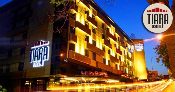 Osmangazi Tiara Hotel & Spa'da çift kişilik 1 gece konaklama seçenekleri 159 TL'den başlayan fiyatlarla! Fırsatın geçerlilik tarihi için DETAYLAR bölümünü inceleyiniz.