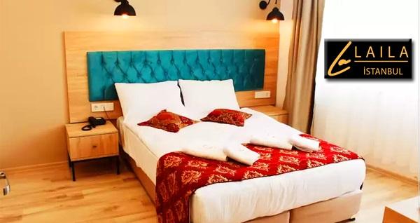 The Laila Hotel by Quonca'da çift kişilik 1 gece konaklama