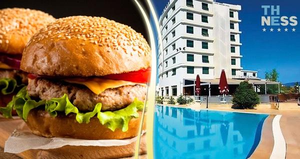 Kocaeli The Ness Thermal Hotel'de enfes hamburger menü, termal ve spa kullanımı 39 TL'den başlayan fiyatlarla! Fırsatın geçerlilik tarihi için DETAYLAR bölümünü inceleyiniz.