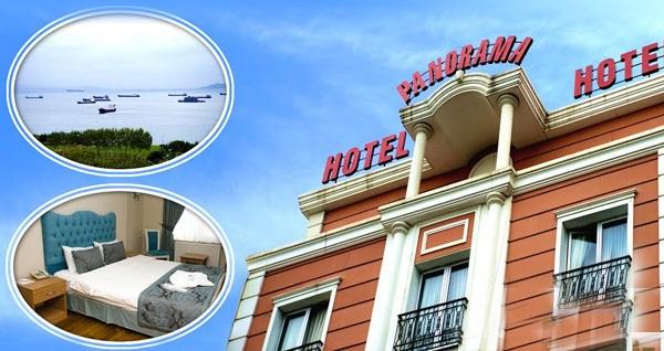 Zeytinburnu Panorama Hotel'de kahvaltı dahil çift kişilik 1 gece konaklama 250 TL yerine 129 TL! Fırsatın geçerlilik tarihi için, DETAYLAR bölümünü inceleyiniz.