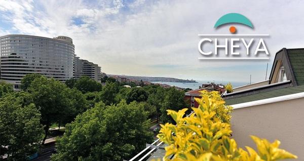 Beşiktaş Cheya Hotel & Suites'te açık büfe kahvaltı dahil çift kişilik 1 gece konaklama keyfi 349 TL'den başlayan fiyatlarla! Fırsatın geçerlilik tarihi için DETAYLAR bölümünü inceleyiniz.