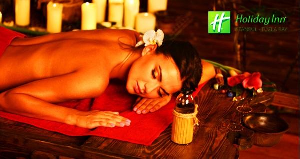 Holiday Inn Istanbul Tuzla Bay Hotel - Spa'da günlük sınırsız ıslak alan kullanımı ve masaj terapileri 79 TL'den başlayan fiyatlarla! Fırsatın geçerlilik tarihi için DETAYLAR bölümünü inceleyiniz.