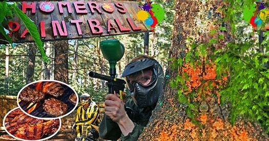 Bornova Homeros Adventure Doğa Sporları Merkezi'nde 1 saatlik paintball (50 top) heyecanı ve enfes mangal keyfi 95 TL yerine 69,90 TL! Fırsatın geçerlilik tarihi için, DETAYLAR bölümünü inceleyiniz.