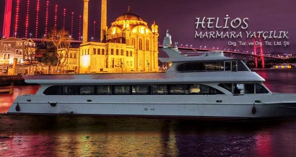 Helios Marmara Yatçılık'tan Boğaz'ın eşsiz sularında canlı fasıl eşliğinde iftar menüleri 60 TL'den başlayan fiyatlarla! Bu fırsat 6 Mayıs - 3 Haziran 2019 tarihleri arasında, iftar saatinde geçerlidir.
