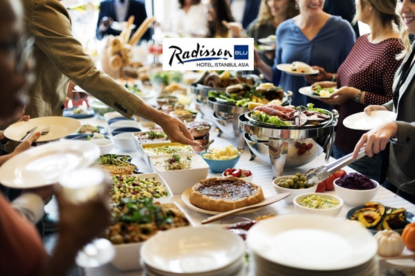 Ataşehir Radisson Blu Hotel Istanbul Asia'da hafta sonu geçerli açık büfe kahvaltı keyfi 39 TL! Fırsatın geçerlilik tarihi için DETAYLAR bölümünü inceleyiniz.