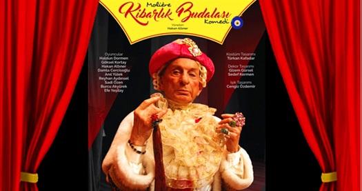 """Başrolünü Haldun Dormen'in oynadığı Moliere'in ölümsüz eseri """"Kibarlık Budalası"""" oyununa biletler 75,65 TL'den başlayan fiyatlarla! 14 Ekim 2020 / 20.30 / Antalya Açıkhava Tiyatrosu"""