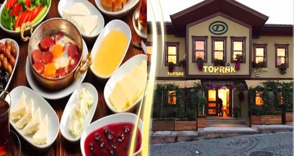 Altındağ Toprak Antik Cafe'de Erzincan usulü yöresel serpme kahvaltı kişi başı 35 TL yerine 25 TL! Fırsatın geçerlilik tarihi için DETAYLAR bölümünü inceleyiniz.