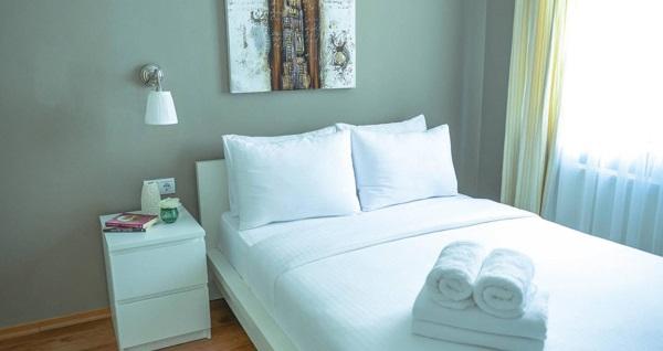 The Gate Ataşehir Suites & Flats'ta çift kişilik konaklama seçenekleri 149 TL'den başlayan fiyatlarla! Fırsatın geçerlilik tarihi için DETAYLAR bölümünü inceleyiniz.
