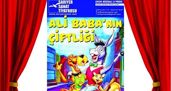"""Eğlence dolu ''Bremen Mızıkacıları Ali Baba'nın Çiftliğinde'' adlı çocuk oyununa biletler 36 TL yerine 25 TL! Tarih ve konum seçimi yapmak için """"Hemen Al"""" butonuna tıklayınız."""