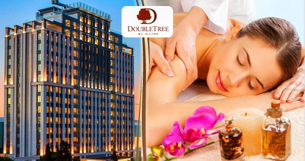 DoubleTree By Hilton Topkapı Rose Spa'da ıslak alan kullanımı dahil 50 dakikalık masaj seçenekleri 99 TL'den başlayan fiyatlarla! Fırsatın geçerlilik tarihi için DETAYLAR bölümünü inceleyiniz.
