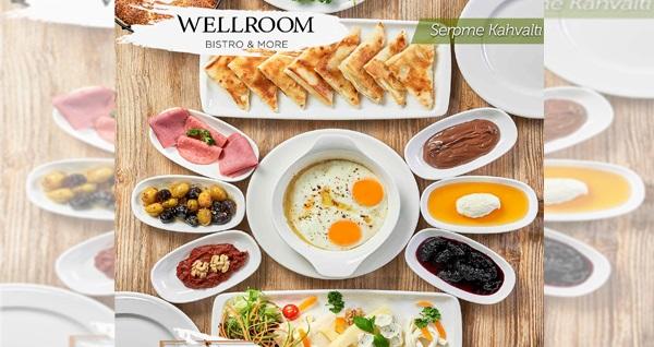Wellroom Bistro & More'da çift kişilik kahvaltı keyfi 70 TL! Fırsatın geçerlilik tarihi için DETAYLAR bölümünü inceleyiniz.
