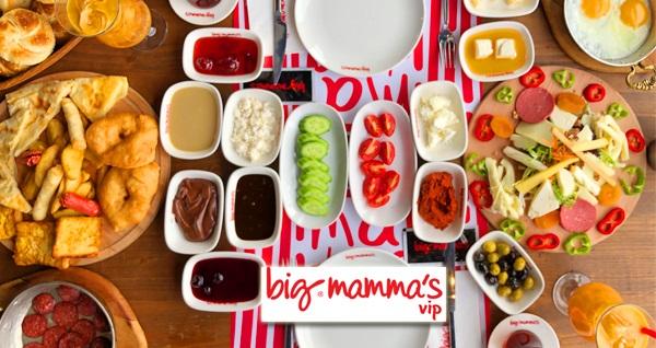 Big Mamma's vip Okmeydanı'nda geçerli 2 kişilik yöresel serpme kahvaltı 79,50 TL! Fırsatın geçerlilik tarihi için, DETAYLAR bölümünü inceleyiniz.