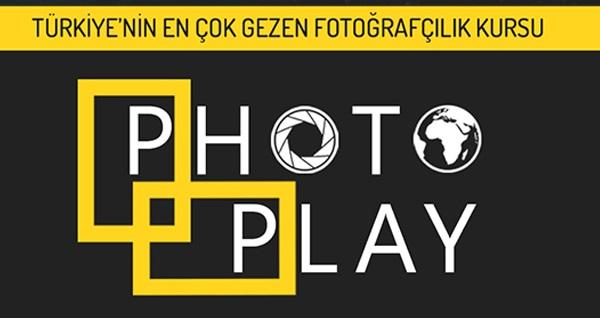 Türkiye'nin 1 numaralı fotoğrafçılık kursu PhotoPlay'de fotoğrafçılık eğitimi