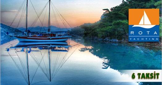 Rota Yachting ile 4 gün TP gulette, 3 gün oda+kahvaltı Alibey Butik Hotel'de konaklamalı Fethiye Marmaris mavi tur 1.235 TL yerine 999 TL! 6 Ekim 2016 tarihine kadar, 7 günlük mavi turlarda geçerlidir.