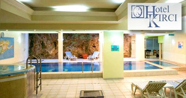 Çekirge Kırcı Termal Hotel'de termal havuz, Türk hamamı, sauna, şok havuzu kullanımından oluşan spa paketi 69 TL! Fırsatın geçerlilik tarihi için DETAYLAR bölümünü inceleyiniz.