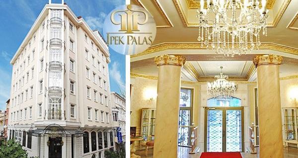 124 yıllık ihtişamlı mimarisiyle İpek Palas Hotel'de 1 gece konaklama keyfi 319 TL'den başlayan fiyatlarla! Fırsatın geçerlilik tarihi için DETAYLAR bölümünü inceleyiniz.