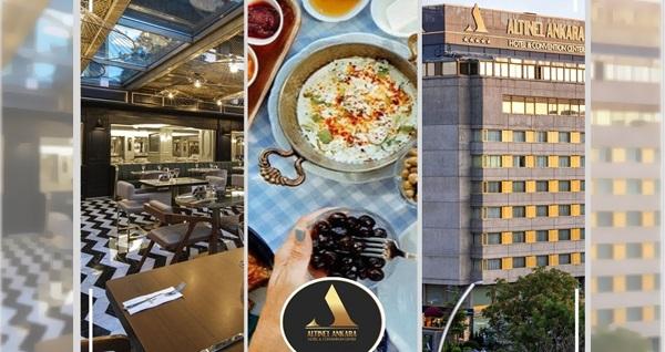 5 Yıldızlı Altınel Hotel Ankara'da hafta sonuna özel eşsiz lezzetlerden oluşan brunch (kişi başı) 95 TL yerine 72 TL! Fırsatın geçerlilik tarihi için DETAYLAR bölümünü inceleyiniz.