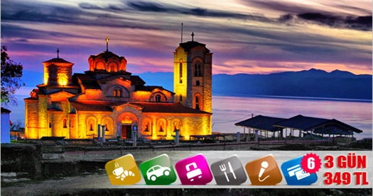 """29 Ekim'de Balkanların üç güzeli! 4 gün 3 gece konaklamalı """"Yunanistan, Makedonya, Bulgaristan Turu"""" Megalo Tour ile 550 TL yerine 349 TL! 25-29 Ekim 2013 tarihleri arasında, gerçekleşecek tur için geçerlidir. Fırsata; kişi başı 3 gece oda kahvaltı konaklama, araç içi ikramlar, ulaşım ve rehberlik hizmetleri dahildir."""