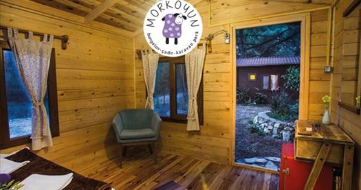 Mordoğan Morkoyun Bungalov Kamp'ta kahvaltı dahil çift kişilik 1 gece konaklama 119 TL! Fırsatın geçerlilik tarihi için, DETAYLAR bölümünü inceleyiniz.