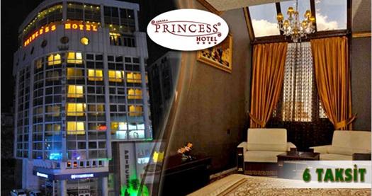 Kızılay'ın şık ve konfor adresi Ankara Princess Hotel'de kahvaltı dahil çift kişilik 1 gece konaklama keyfi 140 TL'den başlayan fiyatlarla! Özel günler HARİÇ; 25 Kasım 2016 tarihine kadar, haftanın her günü geçerlidir.