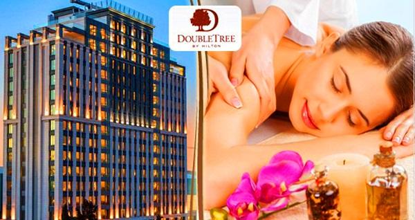 DoubleTree By Hilton Topkapı Rose Spa'da gelin hamamı paketi kişi başı 99 TL! Fırsatın geçerlilik tarihi için DETAYLAR bölümünü inceleyiniz.