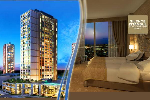 Ataşehir Silence Istanbul Hotel&Convention Center'da çift kişilik 1 gece konaklama 280 TL yerine 199 TL! Fırsatın geçerlilik tarihi için, DETAYLAR bölümünü inceleyiniz.