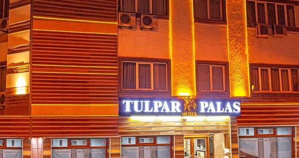Eskişehir Tulpar Palas Hotel'de çift kişilik 1 gece konaklama 109 TL! Fırsatın geçerlilik tarihi için DETAYLAR bölümünü inceleyiniz.