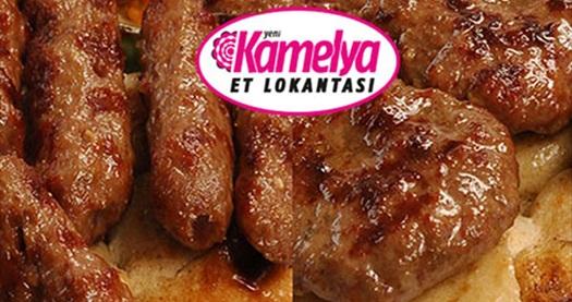 Yeni Kamelya Et Lokantası'nda nefis bir akşam veya hafta sonu keyfi için başlangıçlar, aperatifler, karışık ızgara, salata, içecek ve tatlıdan oluşan eşsiz menü 40 TL yerine 18,50 TL! 31 Aralık 2013 tarihinde kadar geçerlidir.
