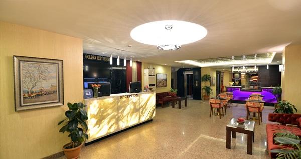 Kadıköy Golden Rest Hotel'de çift kişilik 1 gece konaklama seçenekleri 339 TL'den başlayan fiyatlarla! Fırsatın geçerlilik tarihi için, DETAYLAR bölümünü inceleyiniz. Fırsat özel günlerde geçerli değildir.