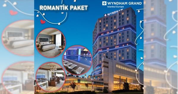Güneşli Wyndham Grand İstanbul Europe Hotel'de Çift Kişilik Romantik Hafta Sonu Tatil Paketi