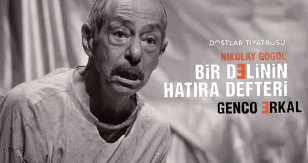 """Türkiye'de ilk tek kişilik """"Bir Delinin Hatıra Defteri"""" oyununa biletler 88 TL yerine 52 TL! Tarih ve konum seçimi yapmak için """"Hemen Al"""" butonuna tıklayınız."""