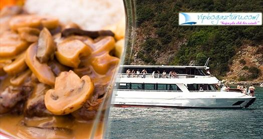 Vip Boğaz Turu ile 3 saatlik tur ve fasıl eşliğinde iftar keyfi 80 TL yerine 42,90 TL! 27 Mayıs - 24 Haziran 2017 tarihleri arasında, her gün iftar saatinde geçerlidir.