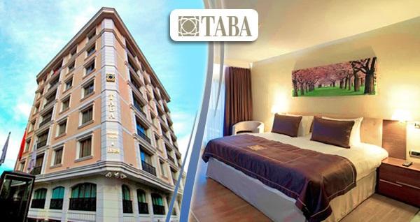 Gayrettepe Taba Luxury Suites'te kahvaltı dahil çift kişilik 1 gece konaklama 249 TL yerine 199 TL! Fırsatın geçerlilik tarihi için, DETAYLAR bölümünü inceleyiniz.