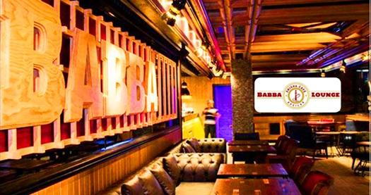 Babba Lounge'ın modern atmosferinde zengin menüler! Fırsatın geçerlilik tarihi için DETAYLAR bölümünü inceleyiniz.
